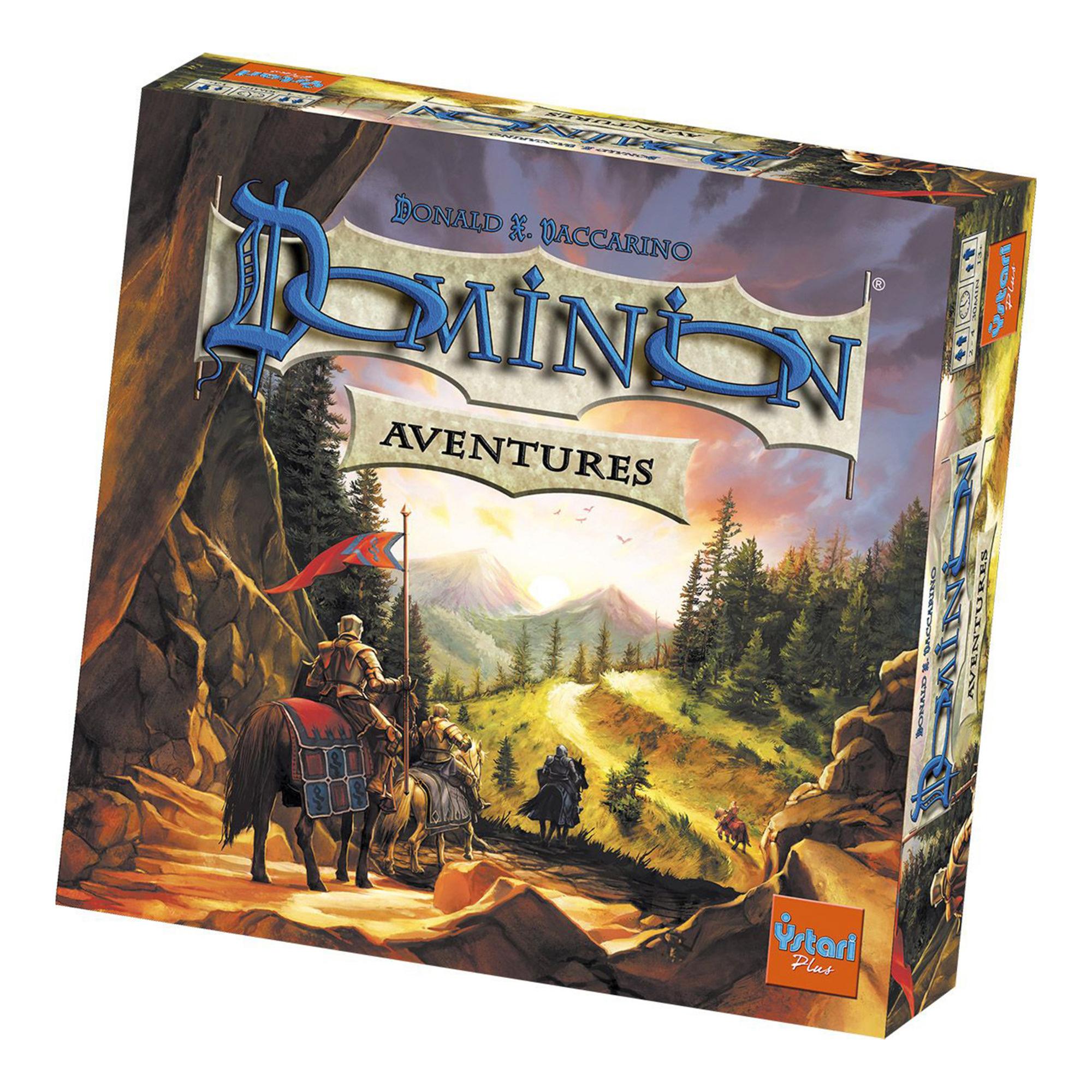 Sélection de jeux de société Asmodée en promotion - Ex : Dominion Aventures