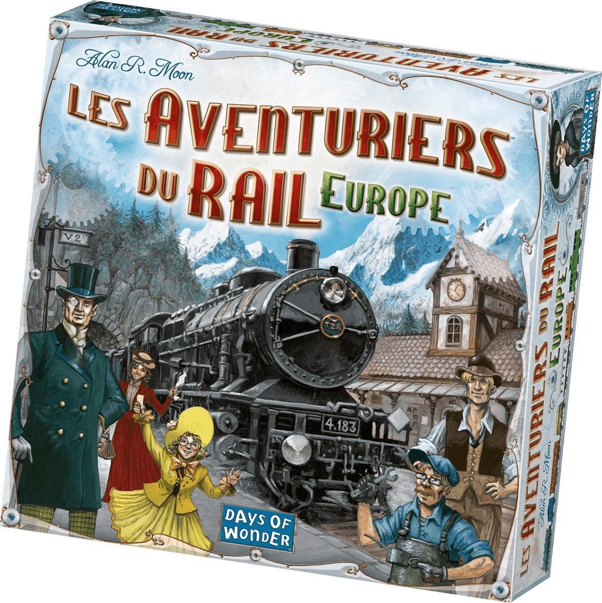 Jeu de société Days of Wonder Les Aventuriers du Rail Europe (via 9.16€ sur la carte de fidélité)