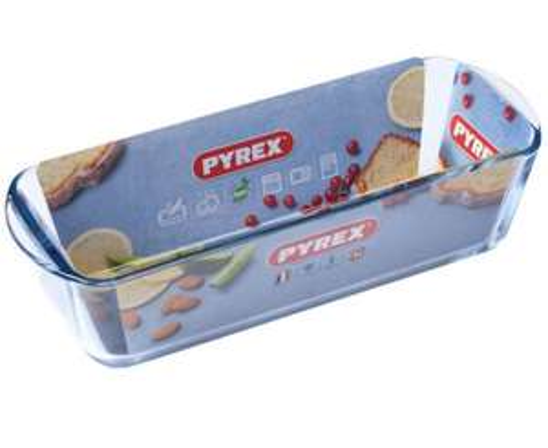Moule à cake Pyrex Bake & Enjoy 149040 - en verre, 30 cm