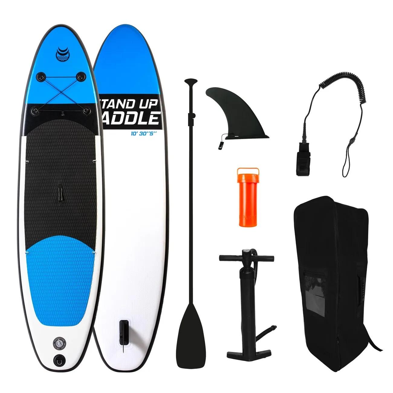 Kit Stand up Paddle Adrenalin URA 10' 30'' 5'' - 305 x 76 x 13 cm, avec pompe, pagaie, leash et sac de transport (vendeur tiers)