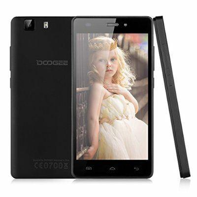 """Sélection de Smartphones Doogee - Ex: 5"""" X5 Pro Dual SIM 4G - IPS 1280x720, MT6735 1.0GHz, RAM 2 Go, 16 Go, Android 5.1"""