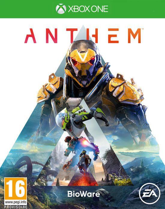 Anthem sur Xbox One (via retrait magasin)
