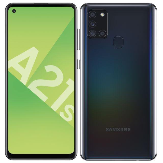 "Smartphone 6,5"" Samsung A21s - 32 Go, Noir prismatique"