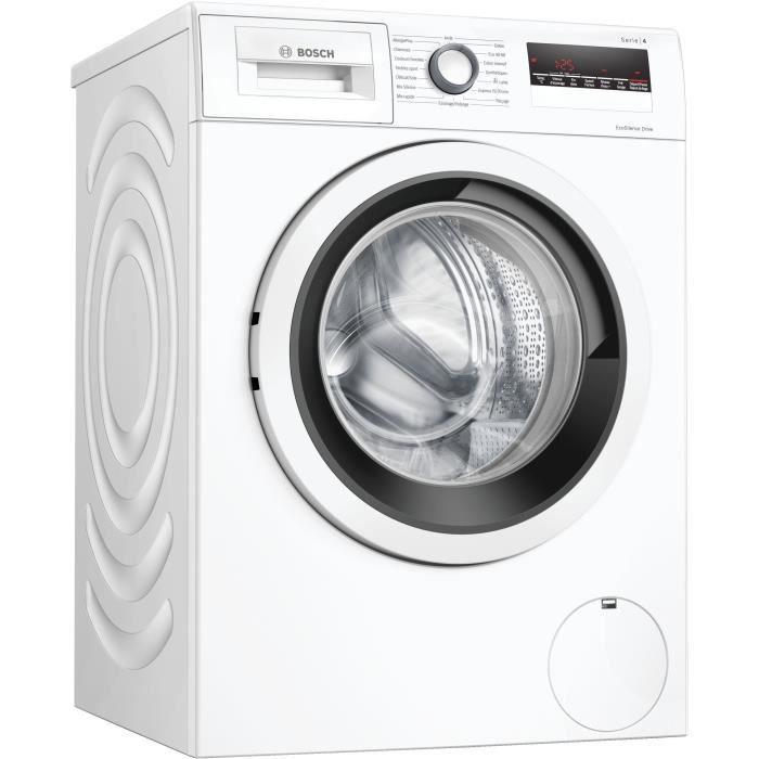 [CDAV] Lave-linge hublot Bosch WAN28238FF Série 4 - 8 kg, Moteur induction, Largeur 60 cm, 1400 trs/min, Blanc