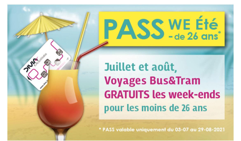 [Moins de 26 ans] Transport gratuit les week-ends de Juillet / Août - Dijon (21)