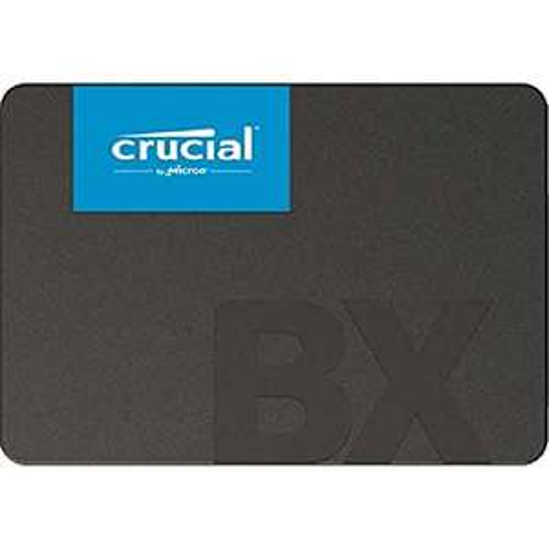 SSD Interne Crucial BX500 CT480BX500SSD1 - 480Go, jusqu'à 540 Mo/s (3D NAND, SATA)