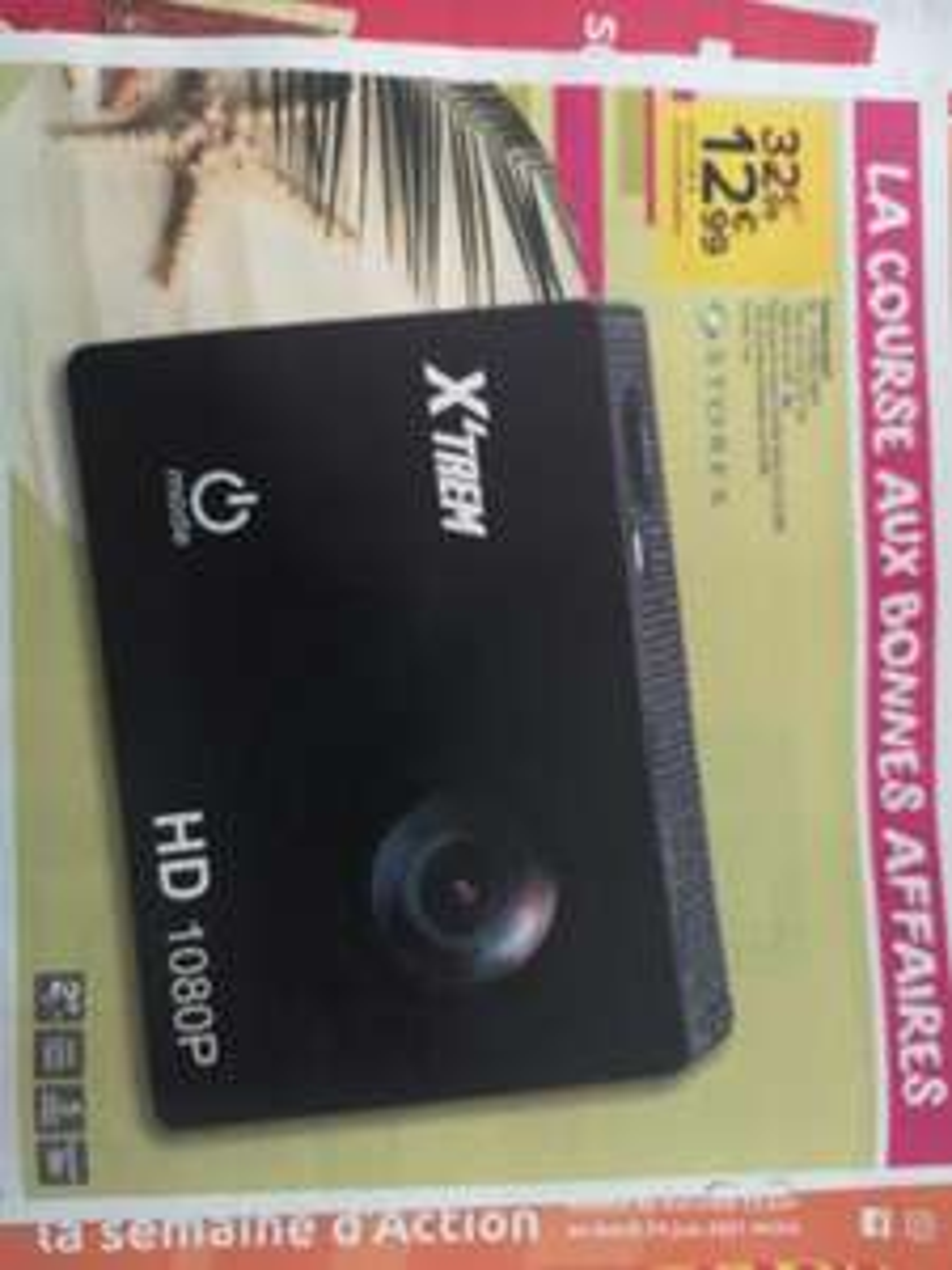 Caméra Sport Xtrem - 1080P, Étanche 30M