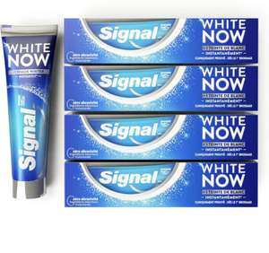 Pack de 4 Dentifrices Signal White Now