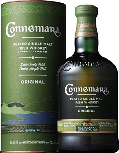 1 Bouteille de Whiskey Irlandais Connemara Original Peated Single Malt - 70cl