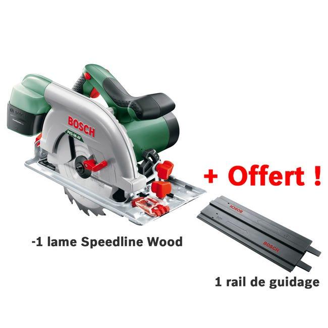 Scie circulaire filaire Bosch PKS 66 AF - 1600W + lame de scie bois & rail de guidage - Paris (75) / Bordeaux (33)