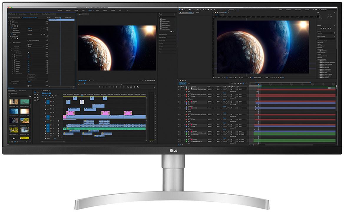 """Ecran PC 34"""" LG UltraWide 34WL850-W - UWQHD, HDR 400, LEP Nano IPS, 5 ms, FreeSync"""
