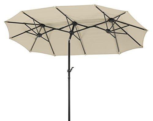 Parasol Rectangulaire Schneider Salerno 746-02 - 300 x 150 cm