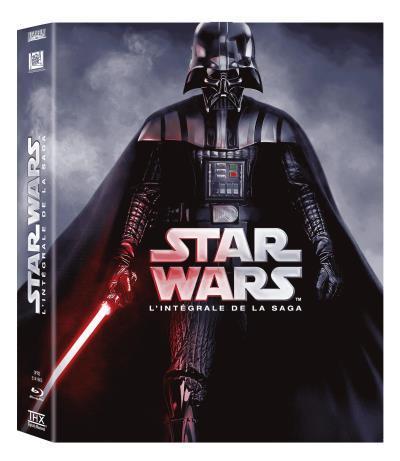 Coffret 9 Blu-ray Star Wars - L'intégrale de la Saga (version 2015)