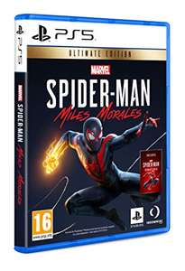 Marvel's Spider-Man: Miles Morales - Ultimate Edition sur PS5 (Version Anglaise - Vendeur tiers)