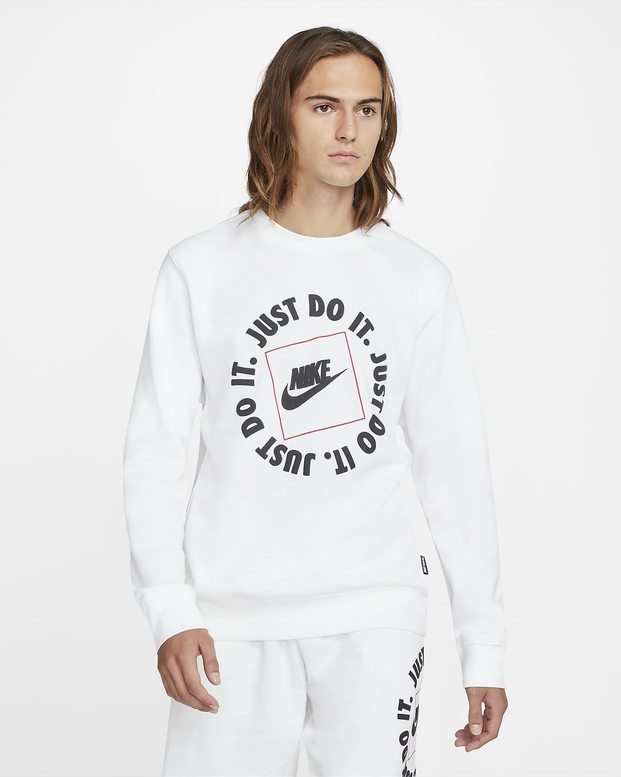 Haut en tissu Fleece pour Homme Nike Sportswear JDI (Taille XS à 2XL)