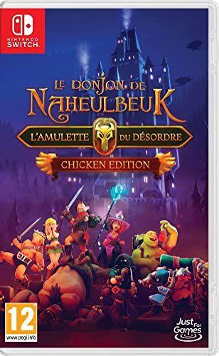Jeu Le Donjon de Naheulbeuk : L'Amulette du Désordre sur Nintendo Switch - Chicken Edition
