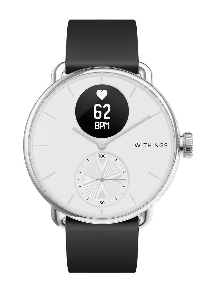 50€ de réduction sur une sélection de Montres connectées Withings Scanwatch - Ex : Montre connectée Withings Scanwatch 38mm