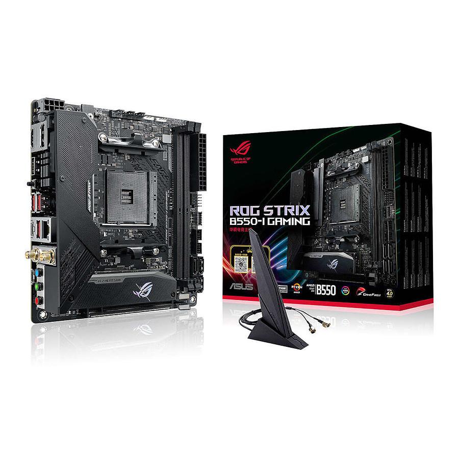 Carte-mère Asus ROG STRIX B550-I GAMING - mini-ITX, AM4, WIFI 6 (via ODR de 40€)