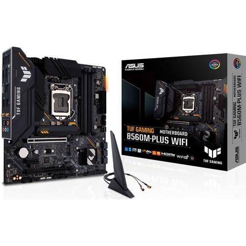Sélection de carte mères Intel Asus en promotion - Ex : Carte mère Asus TUF Gaming B560M-Plus WiFi