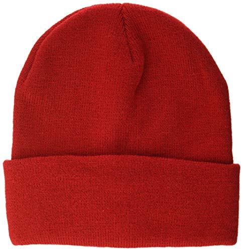 Bonnet rouge - Taille unique