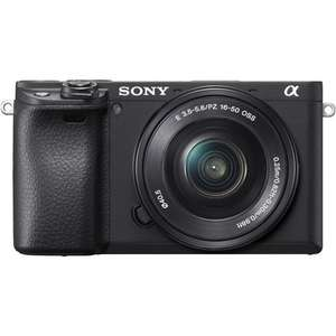 Appareil photo Hybride Sony A6400 Noir + Objectif 16-50 mm F/3.5-5.6 OSS (kamera-express.fr)