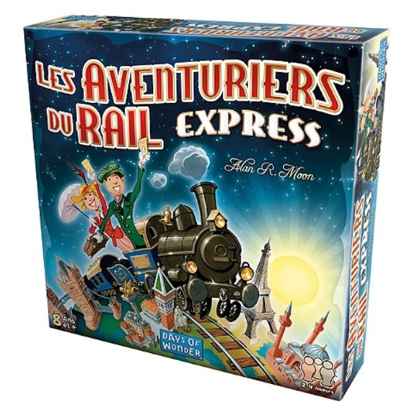 Jeu de société Les Aventuriers du Rail Express (Via 4.82€ sur Carte Fidélité)
