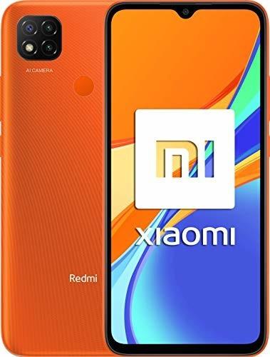 "Smartphone 6.53"" Xiaomi Redmi 9C - HD+, Helio G35, 3 Go de RAM, 64 Go, bleu ou orange (vendeur tiers)"