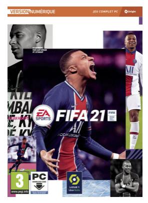 FIFA 21 sur PC (dans une sélection de magasins)