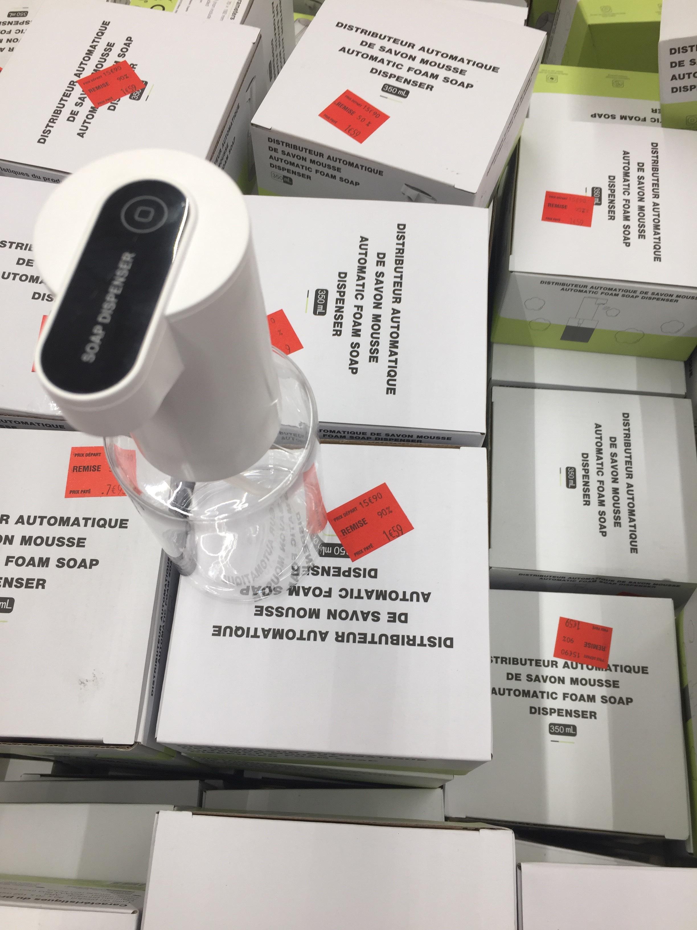 Distributeur de savon mousse automatique - Sevran (93)