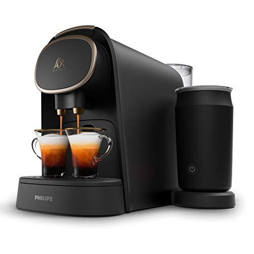 Machine à Café à Capsules avec Mousseur à Lait L'OR Barista LM8018/90