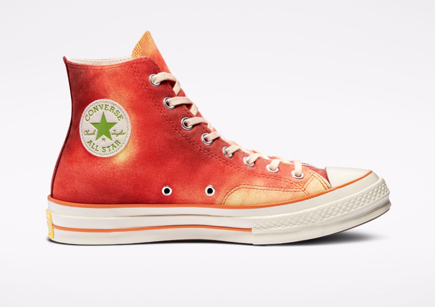 Paire de chaussures Converse Chuck 70 x Concepts Southern Flame Chuck montante