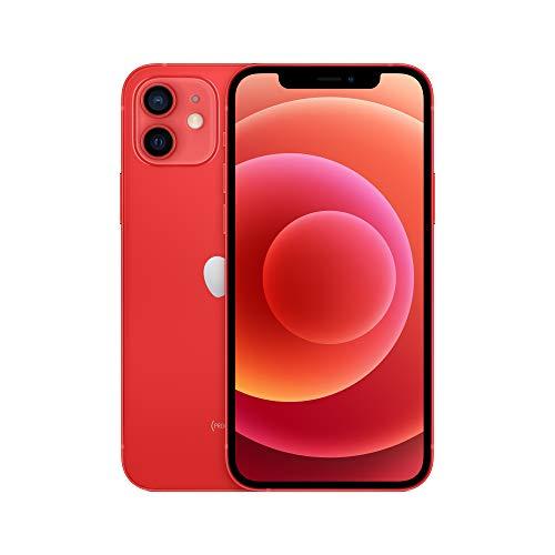 "Smartphone 6.1"" Apple iPhone 12 5G, A14, 4 Go de RAM, 64 Go, Rouge"