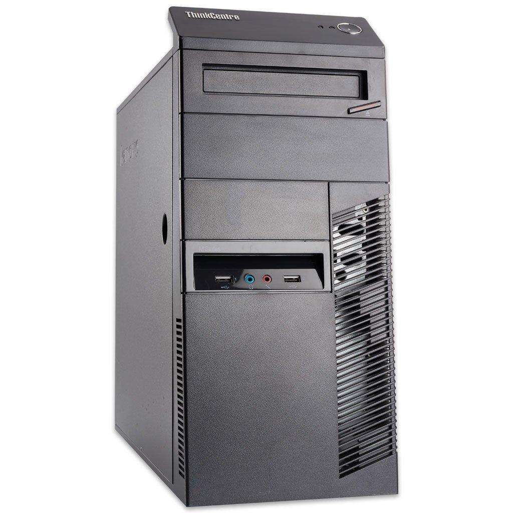 PC Fixe Lenovo Thinkcentre M83 MT - i5-4570, 8 Go de RAM, 250 Go SSD, DVD-RW, Win10Home (Reconditionné - Grade B)