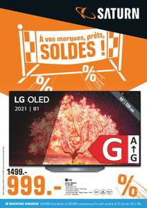 """TV OLED 55"""" LG 55B1 2021 - 4K UHDn 120Hz HDR, Dolby Vision, Smart TV (Frontaliers Luxembourg)"""