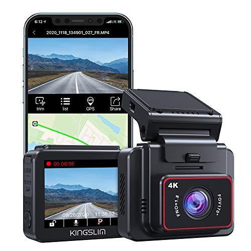 Caméra embarquée Kingslim D5 - 4K, GPS & WiFi (Via Coupon - Vendeur tiers)
