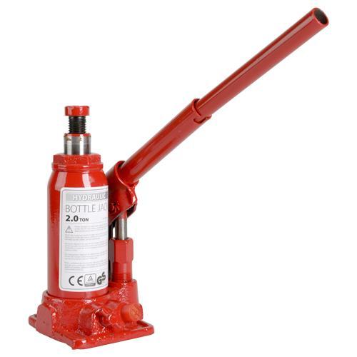 Cric bouteille hydraulique (max. 2 tonnes)