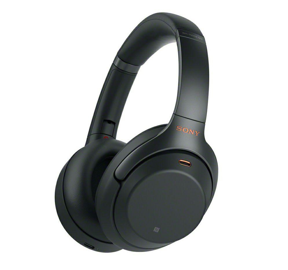 Casque audio sans-fil à réduction de bruit active Sony WH-1000XM3 - Noir