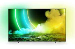 """TV 55"""" Philips 55OLED705 - OLED, 4K UHD, 100 Hz, HDR 10+, Dolby Vision, Ambilight + Google Nest Hub 2e Gen (Frontaliers Luxembourg)"""