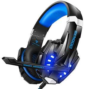 Casque gaming filaire Bengoo G9000 - USB + 3,5 mm (Vendeur tiers)