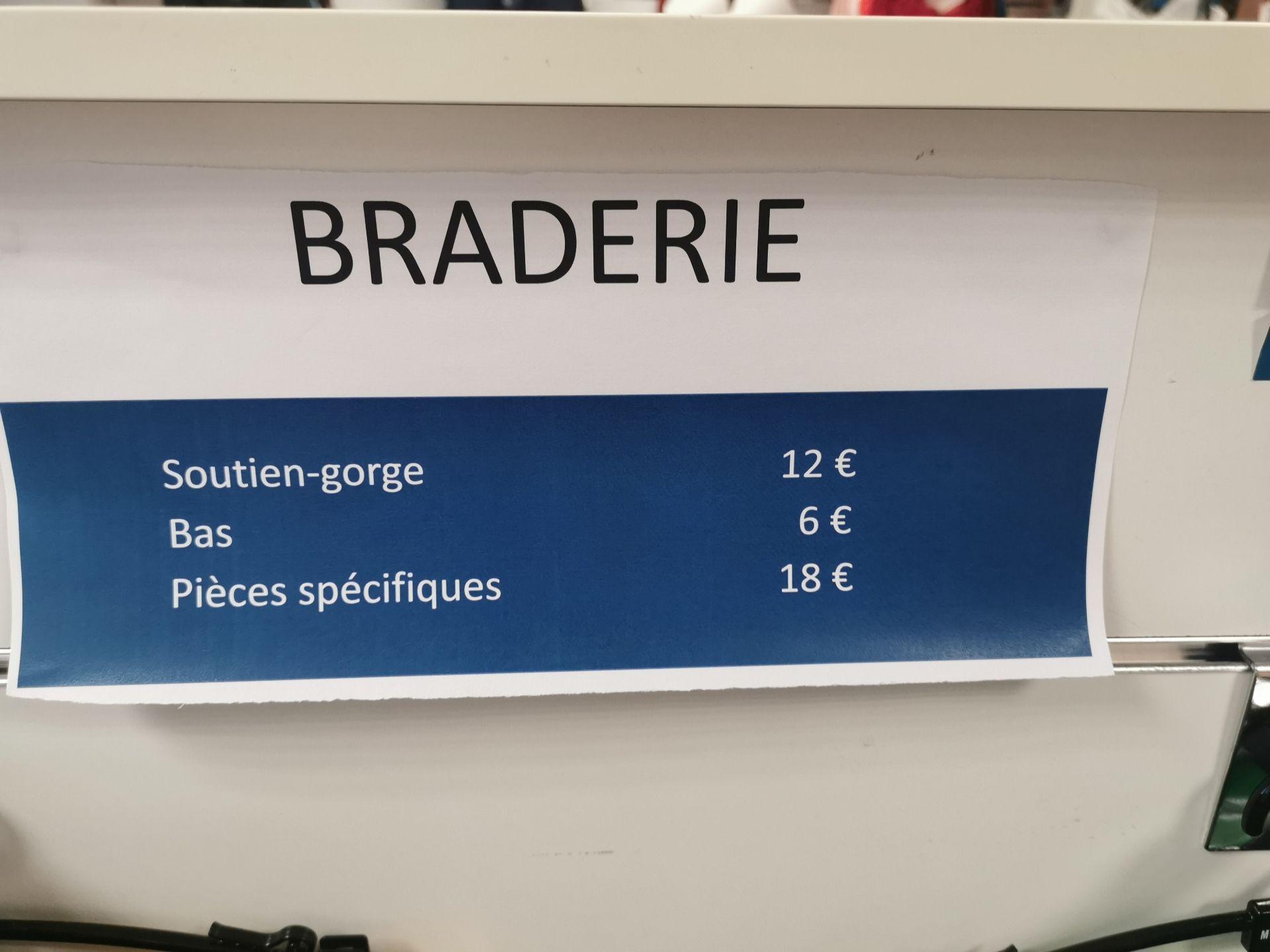 Braderie lingerie Maison Lejaby (Caluire et Cuire 69 )