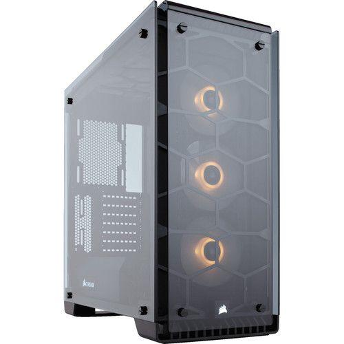 Boitier PC Corsair Crystal 570X RGB - Noir