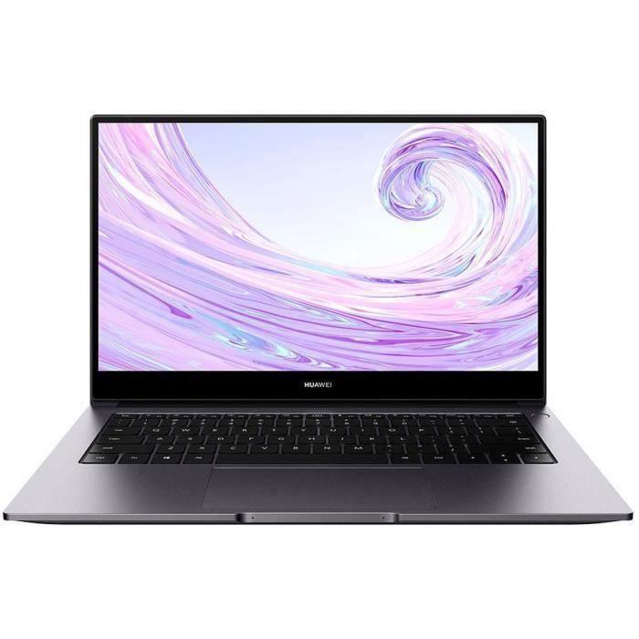 "PC Portable 14"" Huawei MateBook D14 - FHD, i7-10510U, RAM 16Go, 512Go SSD, GeForce MX250, Win 10"