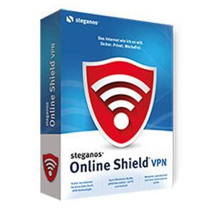 Licence 1 an gratuite - Steganos Online Shield VPN pour 3 appareils (Fonctionne sur PC, iOS et Android)