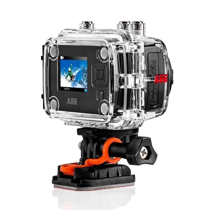 "Caméra sportive PNJ AEE SD100 - Full HD, 8 MP, Ecran LCD 1,5"" (+12€ en 1 bon d'achat)"