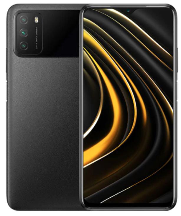 "Smartphone 6.53"" Poco M3 - 4 Go de Ram, 64 Go (100€ avec le code FRclearance15)"