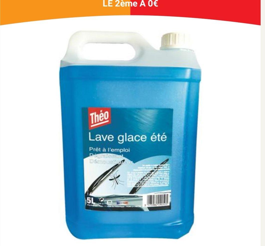 Lot de 2 bidons de lave glace démoustiquant été Théo (2x5 litres)
