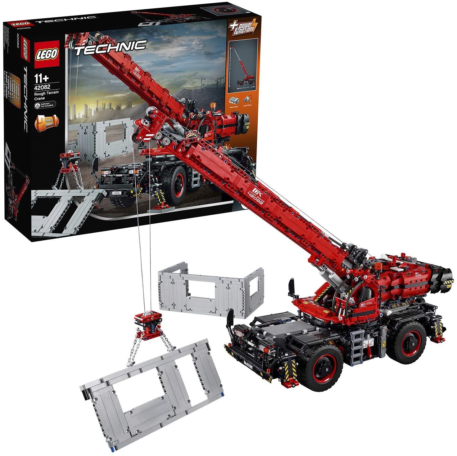 Lego Technic 42082 - La grue tout terrain