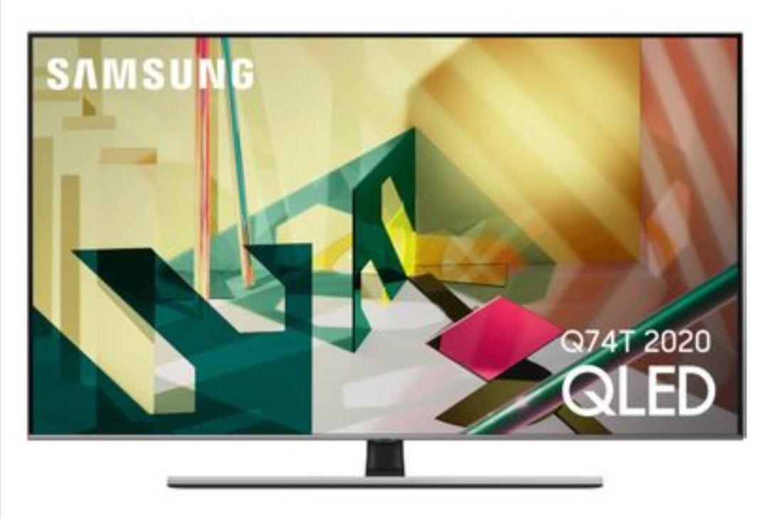 "TV QLED 65"" Samsung QE65Q74T (2020) - 4K UHD, 100 Hz, HDR1000, Smart TV"