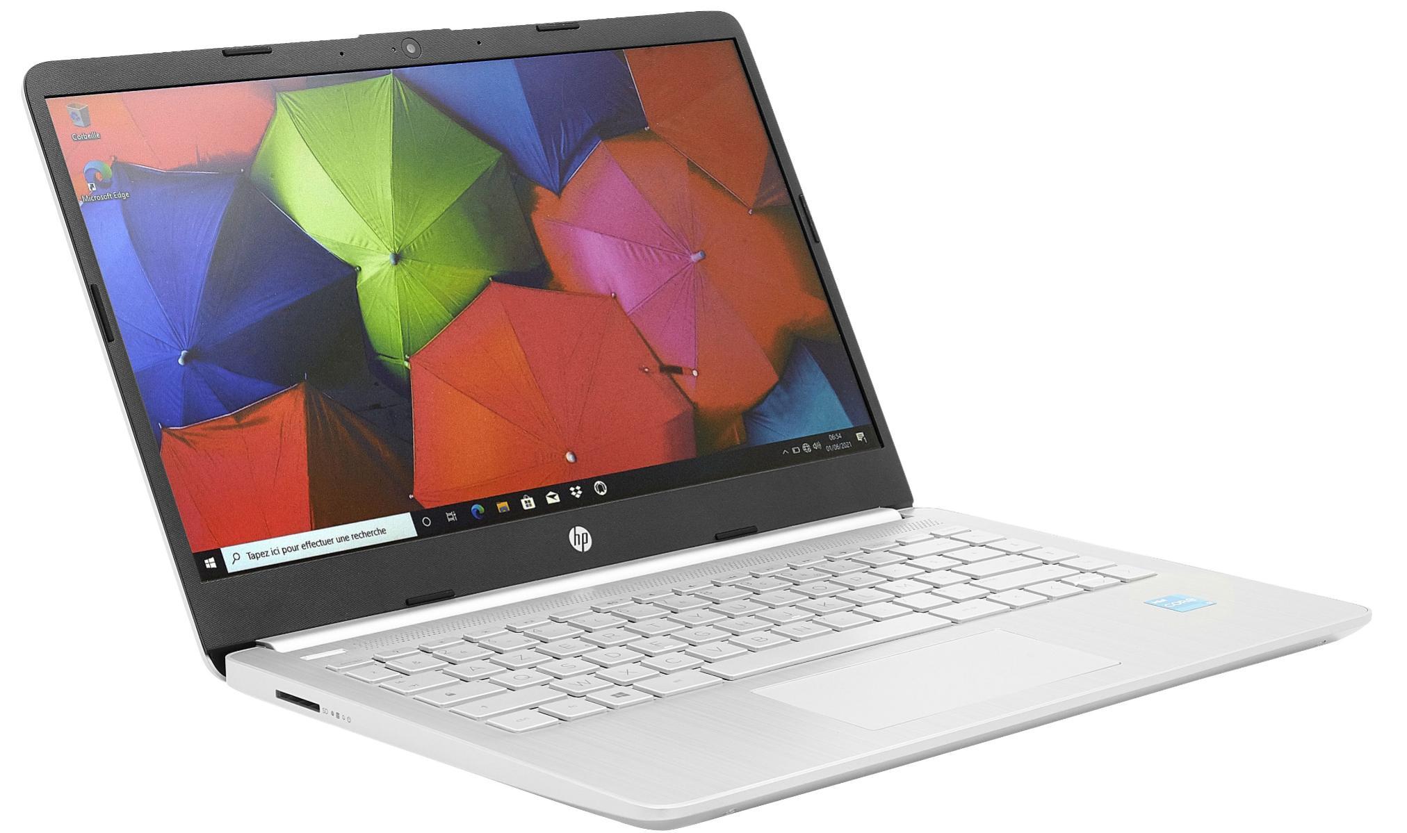"PC portables 14"" HP 14s-dq2030nf - HD, i3-1115G4, 8Go RAM, SSD 256 Go"