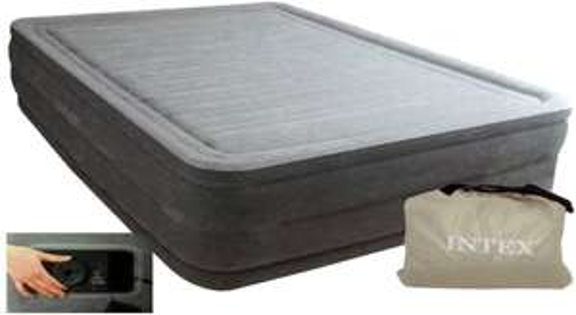 Lit gonflable Intex Queen DURA-Beam Serie Comfort Plush 64418NP - 2 personnes